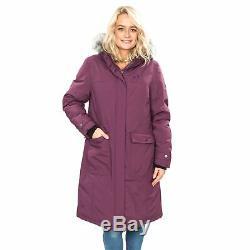 DLX Womens Waterproof Down Jacket Long Parka Winter Coat Munros