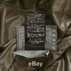 DUVETICA Long Down Coat Nylon Hood Beige Size 38 WOMEN 90076879