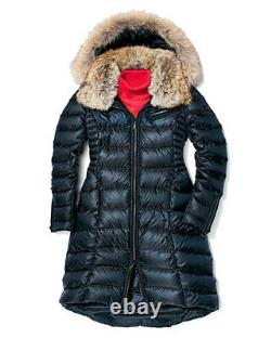 Dawn Levy Fur Trimmed Puffer Coat Jacket Size S $1198 NEW