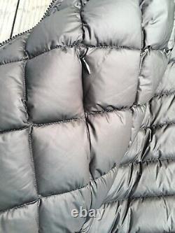 EUC Lululemon No Shivers long bomber jacket reversible UK16 US12 black