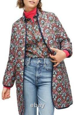 JCrew $248 Reversible Puffer Jacket in Liberty Floral XXS AB602