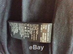 Karen Millen black long quilted puffer coat size UK12 BNWT RRP £299