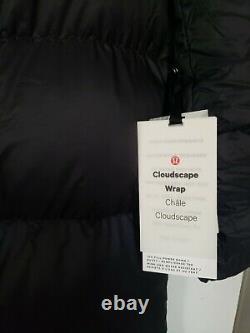 LULULEMON Cloudscape Wrap Long Down Winter Coat, SOLD OUT, Sz 8, Nwt