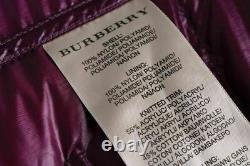 Ladies Burberry Brit Classic Long Padded / Puffer Jacket Size M