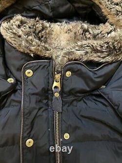 Ladies Joules Caldecott Padded Long Line Winter Coat Size 14