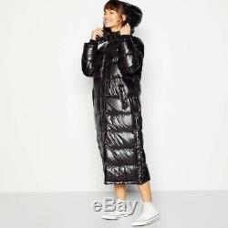 Levis Taupe Down Feather Long Coat