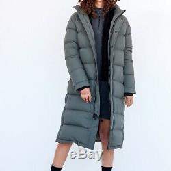 Long Puffer coat, water-repellent, wind proof, canadian Tna brand XL, 18 UK, BNNW