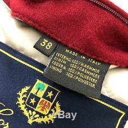 Loro Piana Ladies CASHMERE Quilted Icer Ski Long Jacket Short Coat XS IT38 UK6 8