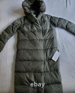 Lululemon Puffer Coat Duvet Down Jacket Dark Olive US8