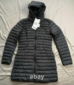 Lululemon Women's Black Pack it Down Long Puffer Jacket Size 6 New With Tags