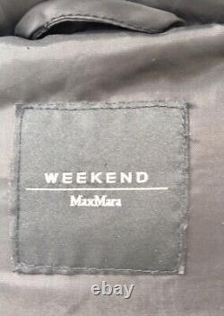 MAX MARA WEEKEND Ladies Coat SIZE 12 UK NEW DOWN Long Made in Italy RRP £480