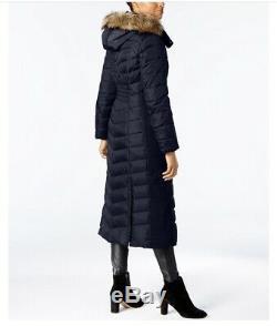 MK Michael Kors Long Zip Down Puffer Hooded Maxi Long Winter Coat. USD 460 Value
