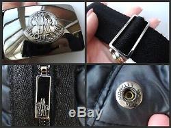 MONCLER Authentic! Ladies Grey DOWN Long PUFFER COAT Jacket Fits UK 10/12 #3791