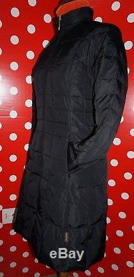 MONCLER sz 0 2XS jacket nano puffer down lightweight quilted women long coat