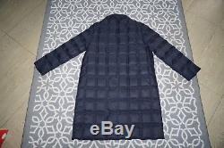 MONCLER sz 3 M jacket nano puffer down lightweight quilted women long coat