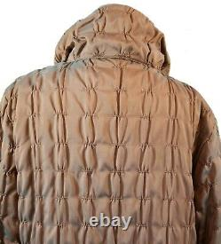 MYCRA PAC Copper Lightweight Quilted Dream Puff Reversible Coat 1=S/M NWT TTCB