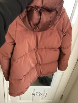Madewell Women Quilted Puffer Parka Long Sleeves Coat Jacket (XS)