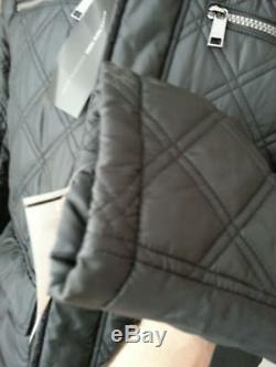 Marc New York Andrew Marc Men Size M Quilted Long Coat Black