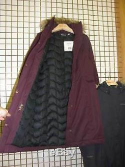 9c2b81298 Marmot Womens Chelsea Down Long Jacket Coat Dark Purple Small