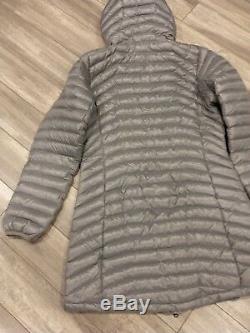 Marmot Womens Trina Puffer 700 Down Jacket Coat Lightweigt NWT SZ-L Gray
