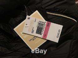 Michael Kors Long 3/4 Puffer Coat Jacket Packable Down Hood Black XXS $240 NWT