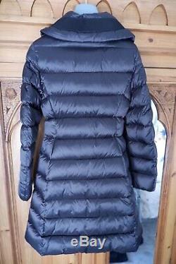 Moncler Bergeronette Womens Long Padded Coat, Ski, Size 1, Uk 8-10, New