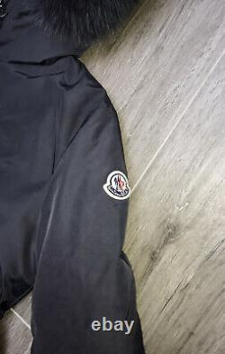 Moncler Girls Grey Long Coat Age 14 Yrs Immaculate Condition