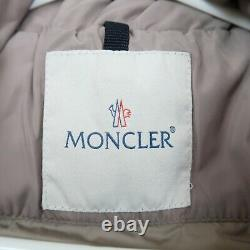 Moncler Giubbotto Womens Puffer Jacket Size 0 (Small) Grey Quilted Down Coat