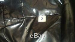 Moncler Grandval Women's Shiny Diamond Quilted Down Coat Long Jacket Sz. 2 / M