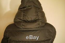 Moncler Long Quilted Puffer black Coat size 3