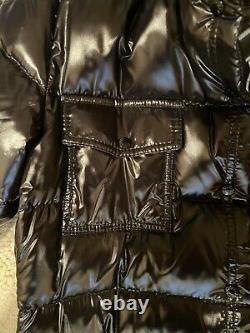 Moncler Moka Long Down Authentic Black Coat