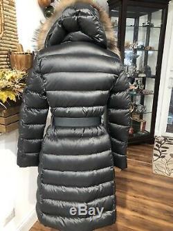 Moncler Size 1 S Black Long Puffer Down Jacket Coat
