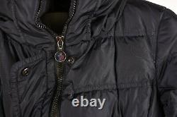 Moncler Vos Down Winter Women Turtle Neck Long Jacket Coat Size 1