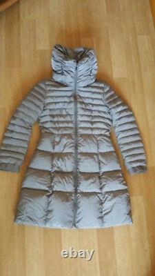 Moncler Women Gray Down Puffer Jacket Long Coat Size 1, S
