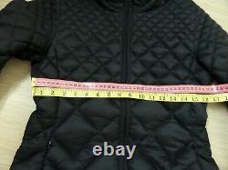Moncler Women's CARCAJOU Down Jacket Bomber Coat Long Quilted Size 1 Black