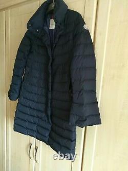 Moncler Womens Puffer Down Long Coat Jacket Full Zip Size xl authentic100%