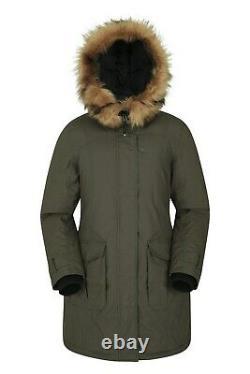 Mountain Warehouse Womens Down Padded Waterproof Jacket Winter Ladies Parka Coat