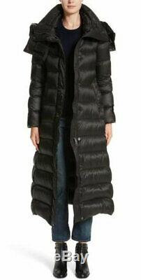 NEW Authentic BURBERRY Kanefield Down Filled puffer Long Coat black size M