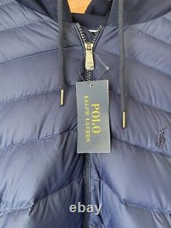 NEW Polo Ralph Lauren Mens Dark Navy Hybrid Jacket/ Coat in XL/Extra Large