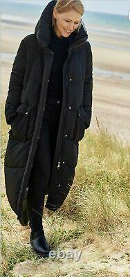 NEXT Black Emma Willis Padded Puffer Duvet Quilted Wadded Coat 8 BNWT SOLD OUT