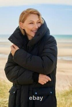 NEXT Emma Willis Black Duvet Padded Quilted Wadded Puffer Coat 10 BNWT SOLD OUT