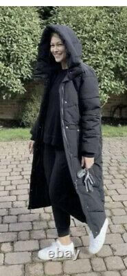 NEXT Emma Willis long padded puffer coat black 14 petite BNWT SOLD OUT