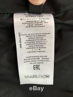 NWOT $1,650 ETRO Printed Down Puffer Coat Jacket Hooded, IT 48/US 12