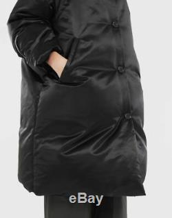 NWT MAISON MARGIELA Padded Coat S32AA0153S49900 44 Black RP $1395