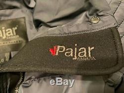 NWT Pajar Canada Ainslie Quilted Down 550 Fill Coat Parka Gray Blue Womens Large