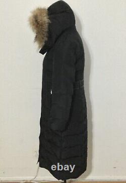 NWT Women's MACKAGE Jada Maxi Down Coat, Medium, Black