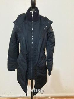 NWT Women's POST CARD Alesaami Long Down Jacket, Size 40 IT, X-Small, Grafit