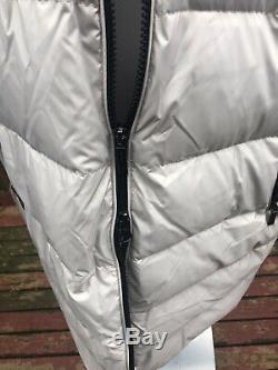 New $340 Michael Kors 3X Beige Hooded Down Fill Long Winter Coat Jacket