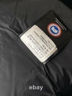 New Canada Goose Mystique Parka Womens Blue Camouflage 3035l Rare Color Authenic