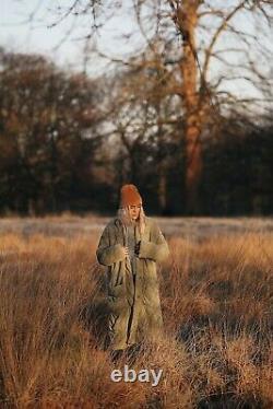 New Large Slumber Pine Free People Dolman Quilted Duvet Coat Jacket Puffer